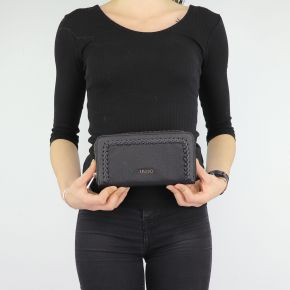 Wallet Liu Jo black Zip around Ceresio N68160 E0033