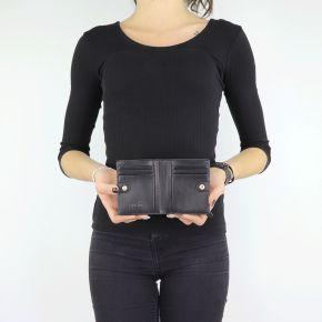 Geldbörse von Liu Jo schwarz Bifold Manhattan N68156 E0087