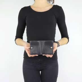 Wallet Liu Jo black Bifold Manhattan N68156 E0087